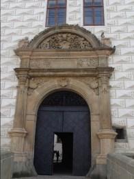 Sgarfito am Schloss