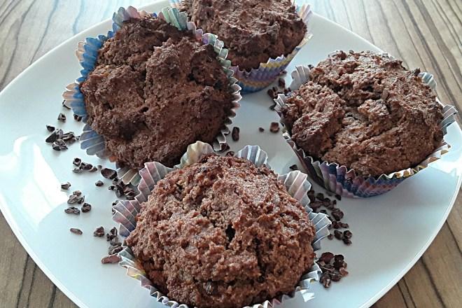 """Rezept """"Schoko-Muffins mit Kakaonibs"""""""