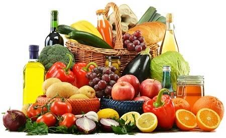 Basische Lebensmittel