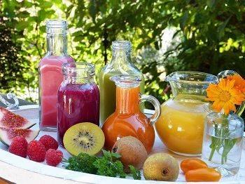 Säfte und Früchte für ein starkes Immunsystem