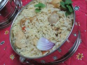 CHICKEN PULAV SERVING BOWL