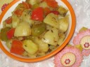 potato with bell peppers recipe