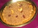 Godhuma Rawa Halwa/Wheat flour Halwa (Satyanarayana Swami Prasadam)