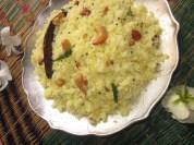 Rawa Pulihora with Lemon