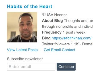 top 40 blogs on philanthropy