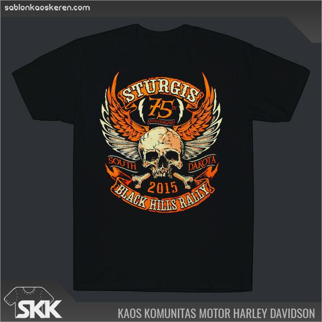 Kaos Komunitas motor Harley