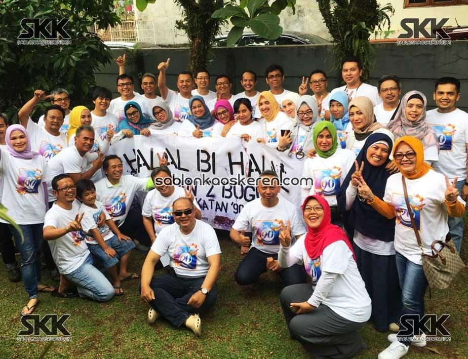 Kaos Halal Bihalal Alumni