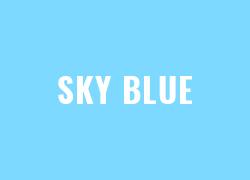 Warna Polyflex Sky Blue