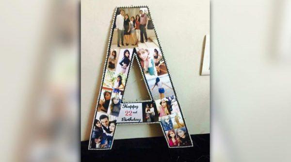 Acrylic Alphabets Frame