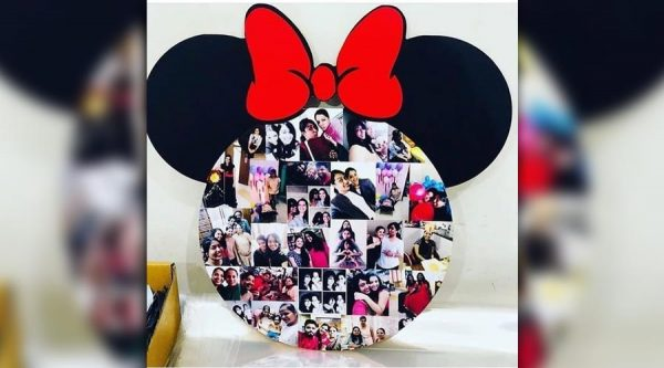 Acrylic Micky Wall Frame