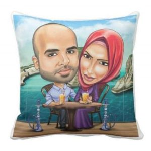 Customized Canvas Cushion custom printed and designed