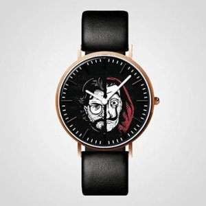 Customized Money Heist Wrist Watch custom printed and designed