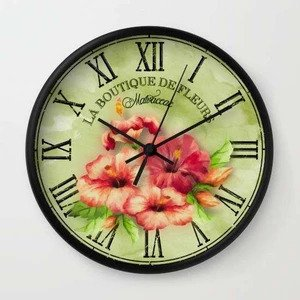 Customized Vintage Wall Clock custom designed and printed