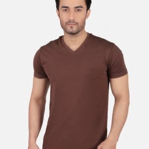 Basic V- Neck T-Shirt SB13