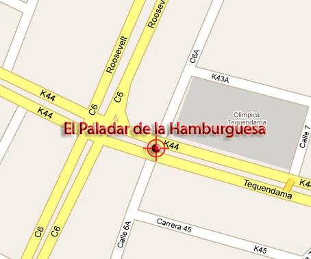 EL PALADAR DE LA HAMBURGUESA  SABOR DE CALLE