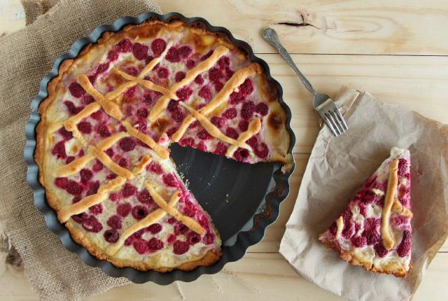 Kuchen de Frambuesa