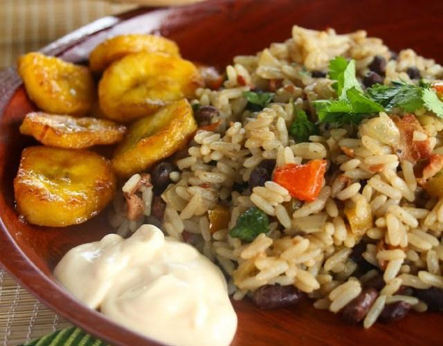 Gallo Pinto (plato típico costarricense)