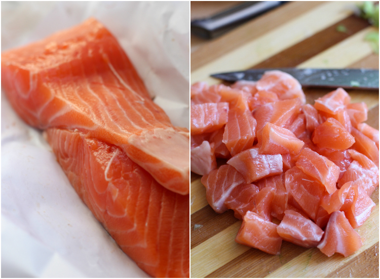 salmon fresco poke