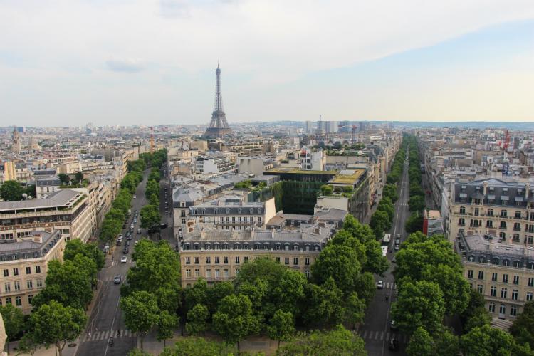 Arco del triunfo - Paris, Francia