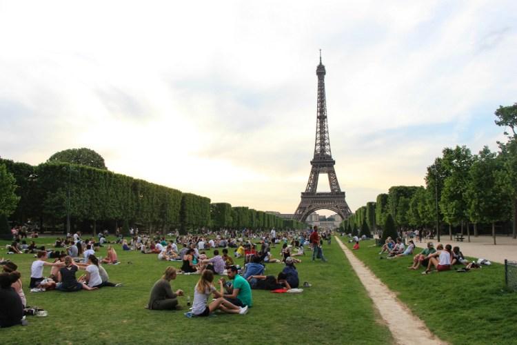 París, Francia, champs de mars