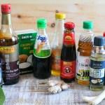 Guía de salsas e ingredientes básicos para cocinar asiático