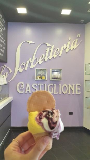 Helado Sorbetteria Castiglione