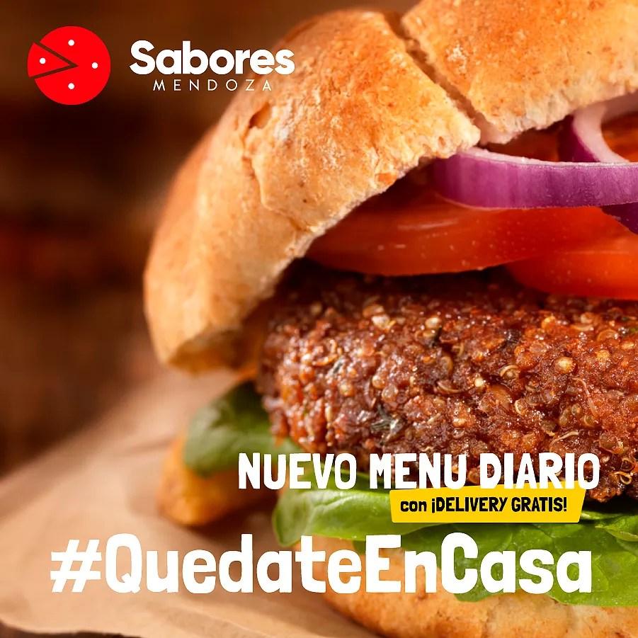 #QuedateEnCasa Delivery de Comida en Mendoza Pedidos Online Delivery Gratis Sabores Mendoza