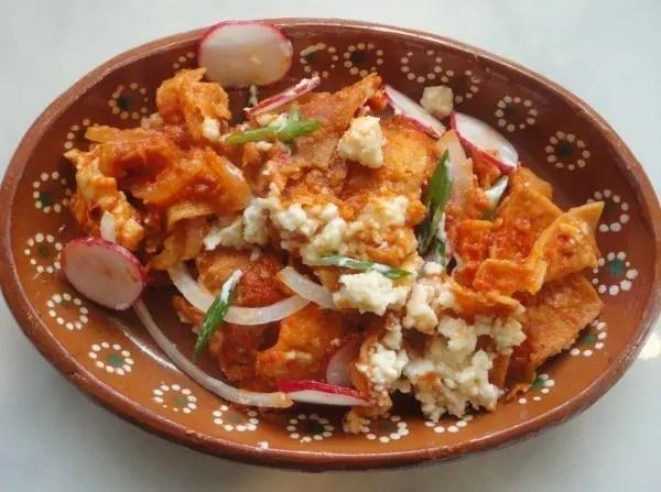 Chilaquiles Mexicanos  Recetas de Cocina en Sabor Gourmet