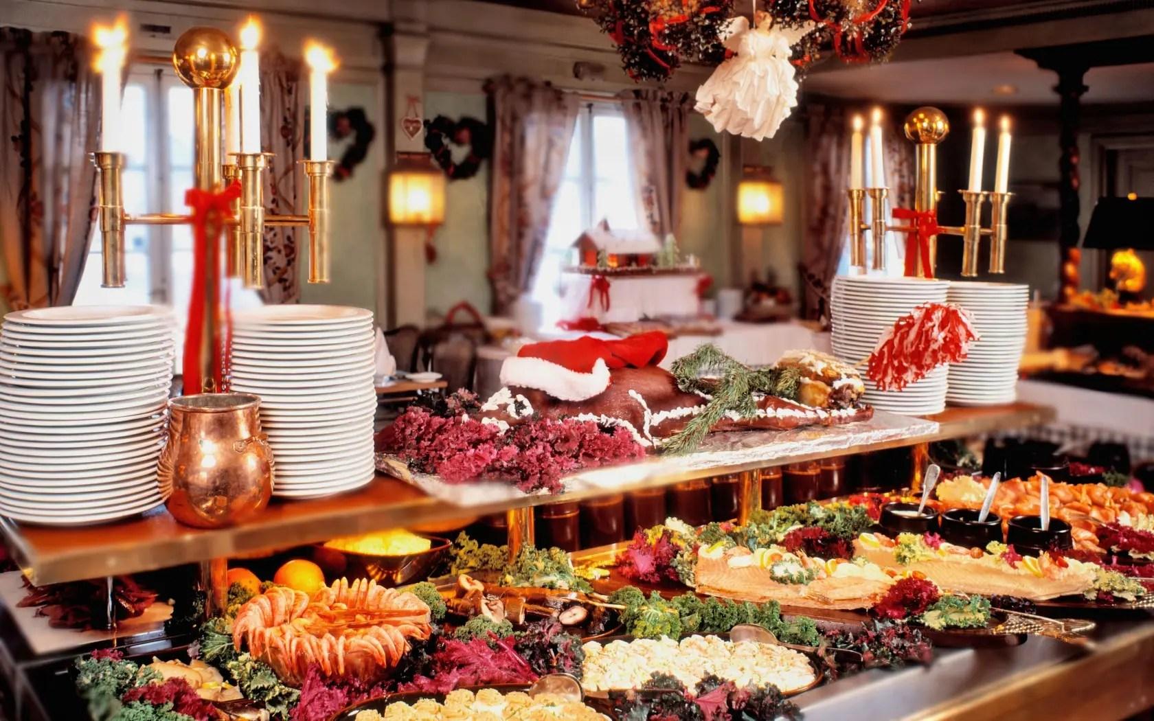 Navidad 2017  El Smorgasbord sueco de Navidad  SaborGourmetcom