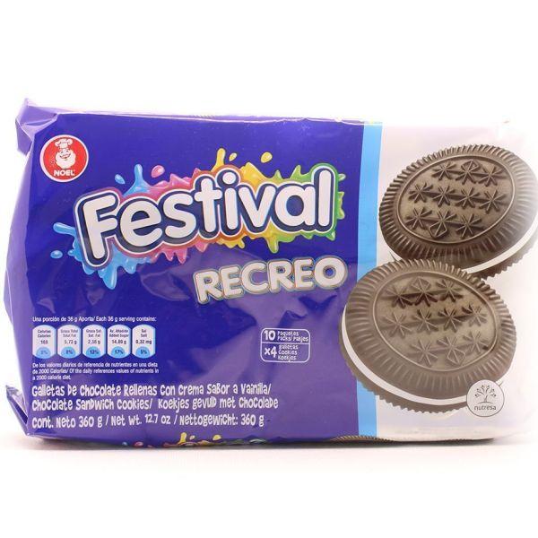 Galletas festival Recreo