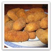 Foto de un plato con croquetas de pescado