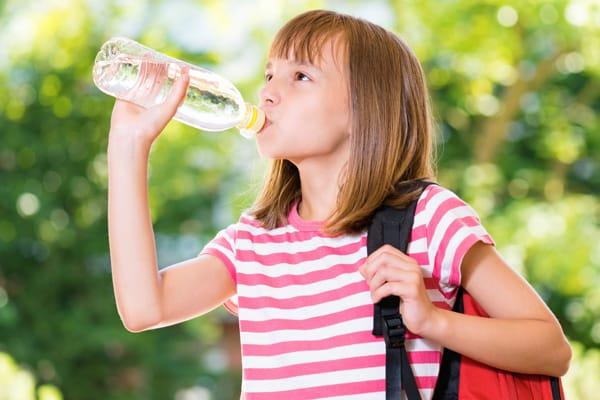 agua para niños