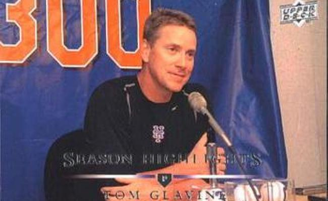August 5 2007 Tom Glavine Wins His 300th Game Society