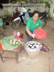Sweet Coconut Glutinous Rice, LP Street Stall. 16/10 STC's
