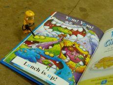 Hitting the books at Luang Prabang Library