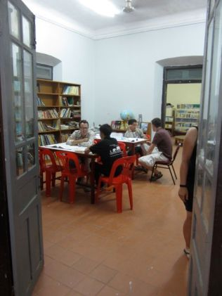 Conversational English at Luang Prabang Library.