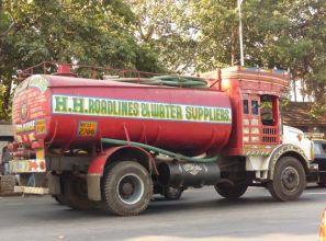 Mumbai water truck