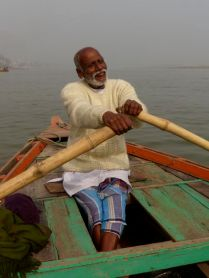 Mucking about on the Ganges