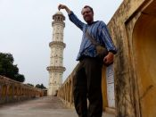 Jaipur - getting touristic at Iswari Minar Swarga Sal