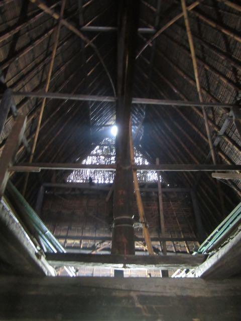 Karo house - Roof detail