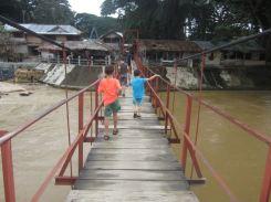 Suspension Bridge: Bukit Lawang