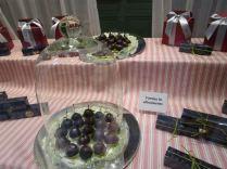 Choc-coated cherries