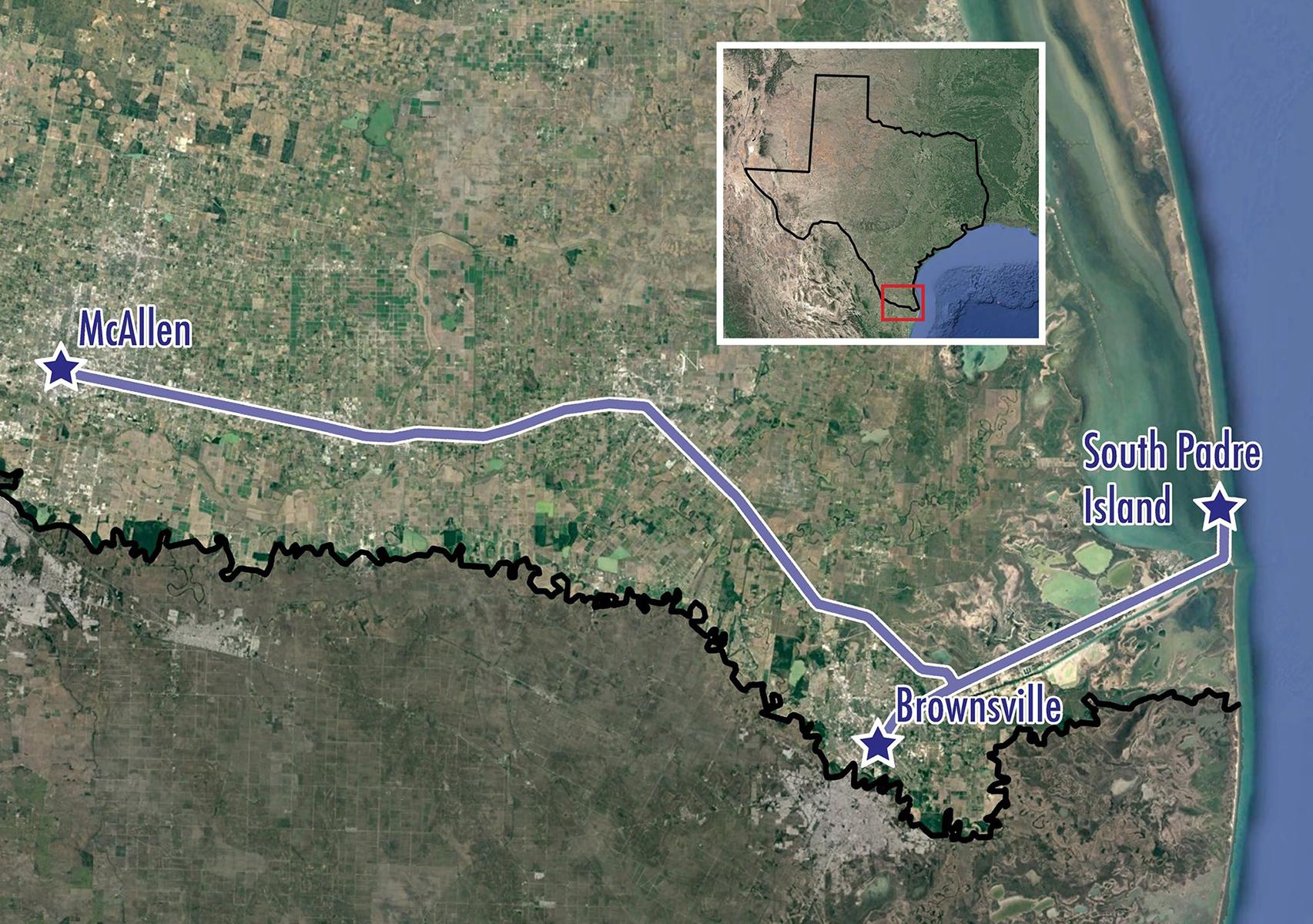 Texas: Birding the Rio Grande Valley - Map
