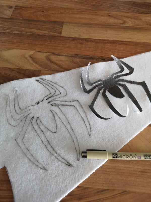 Reproduction Logo Spiderman