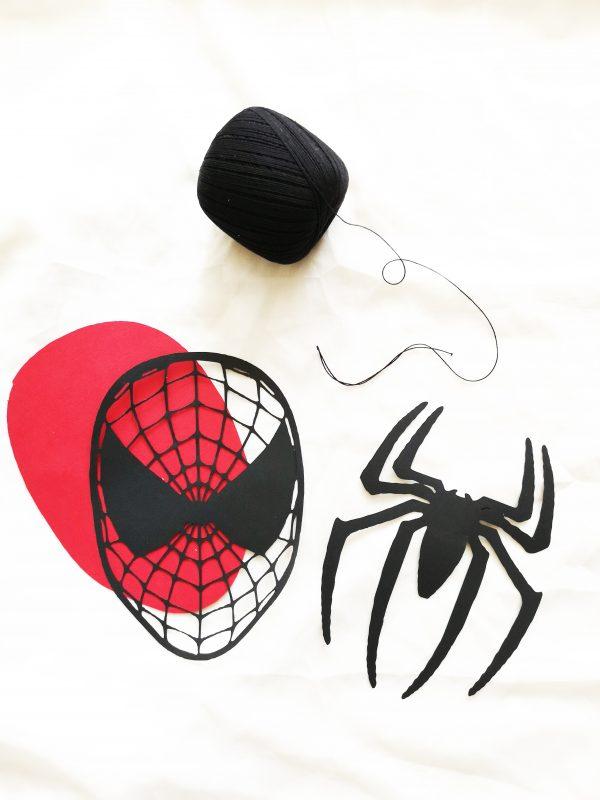 Guirlande Spiderman DIY