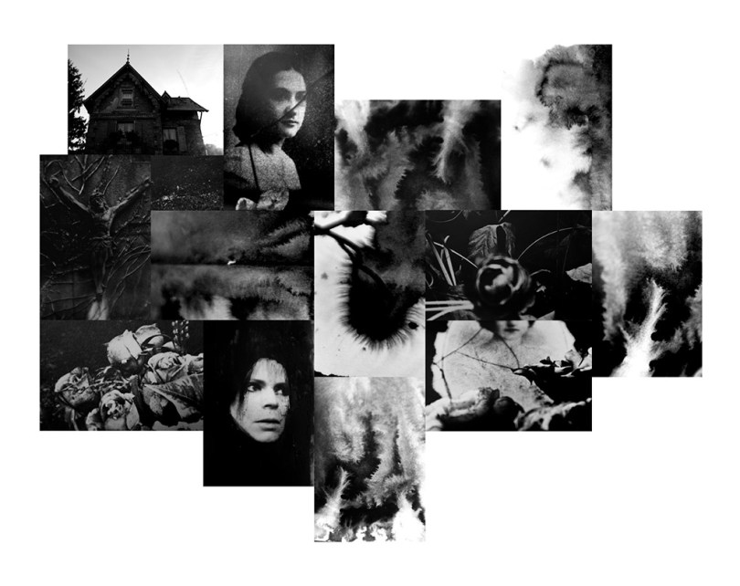 dernière création de Sabrian Biancuzzi - Patchwork de 14 photographie en noir et blanc.
