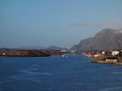 Einfahrt Hafen