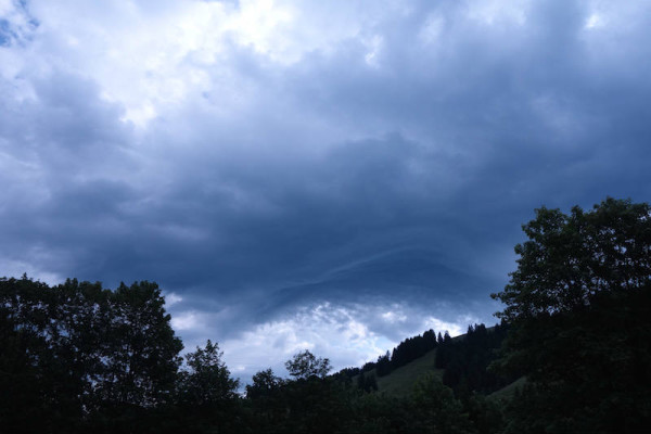 Wolken ohne Regen