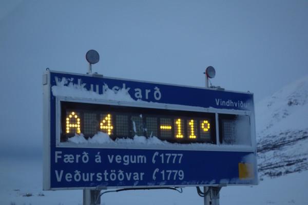 es ist kalt