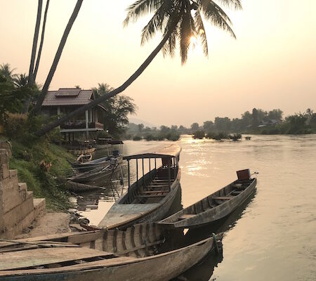 Sunset Don Khon